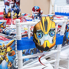 transformer decorations transformers party ideas decorations click to view larger