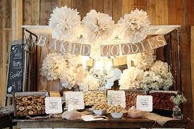 Candy Table For Wedding Pretty Cupcake Cookie Baked Goodies Buffet Sweets N U0027 Treats