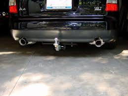 diy b6 a4 s4 trailer hitch installation