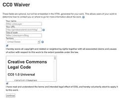 marking your work with a cc license creative commons