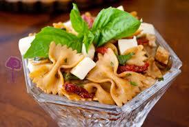 balsamic bowtie pasta salad