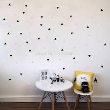popular vinyl window murals buy cheap vinyl window murals lots decorative art murals diy stars triangles round circles vinyl wall stickers decals for bedroom living room