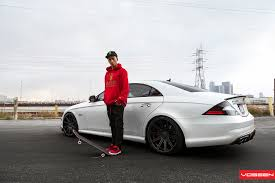 nyjah huston mercedes cls 63 amg vossen presents skateboard ch nyjah huston a day in the