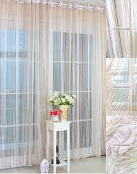 curtain sheer striped curtains jamiafurqan interior accessories