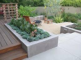 Top  Best Concrete Backyard Ideas On Pinterest Concrete Deck - Concrete backyard design ideas