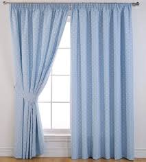 dotty blackout curtains powder blue free uk delivery terrys