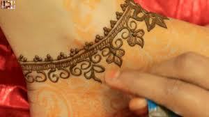 how to design anklet henna mehndi diy easy stylist anklet mehendi