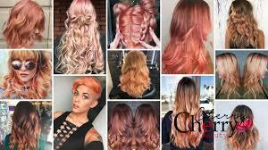 Cherry Red Hair Extensions by 21 Blorange Hair Looks Cherrycherrybeauty