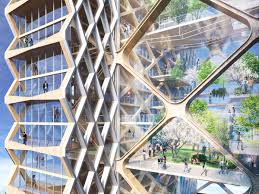 design and architecture get ready for skyscrapers made of wood yes wood wired