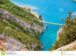 Map Of Provence Grand Canyon Du Verdon Royalty Free Stock Images Image 29397489