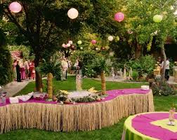 table decoration ideas for parties beach theme party decorations ideas