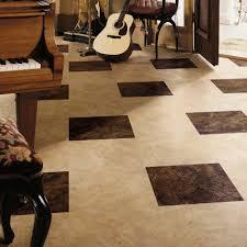 flooring ideas cream marble look vinyl floor tiles in living room