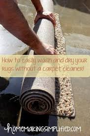 how to clean rugs homemaking simplified how to easily wash and your rugs