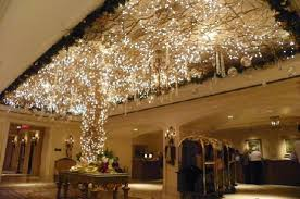 beautiful decorations for the holidays in the lobby picture of