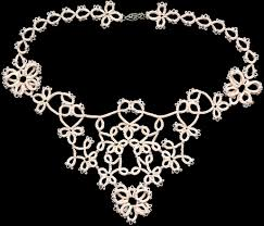 necklace link patterns images Tattle tales tatting patterns tatting jewelry patterns tierra de JPG