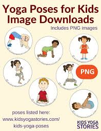 yoga poses pictures printable how to do yoga in your classroom printable poster kids yoga