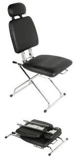 Reclining Makeup Chair Image Detail For The Genie Portable Hair Salon Chair For Hair