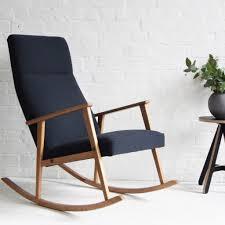 Bespoke Recliner Chairs Bespoke Retro Scandinavian Rocking Chair Florrie Bill