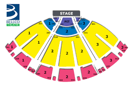 bell center floor plan seating chart