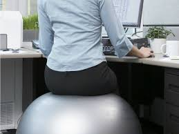 Yoga Ball As Desk Chair 20 Ways To Get Healthier At Work The Loszach Blog