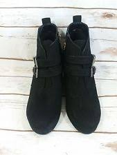 womens boots size 11 target mossimo medium b m wedge boots for ebay