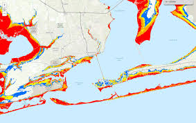 Storm Map Storm Ready 2017 Many Areas Vulnerable To Hurricane Storm Surge