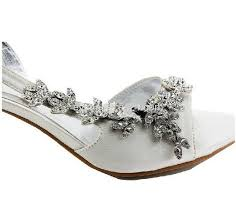 wedding shoes mid heel satin mid heel strappy sandals wedding bridal shoes id
