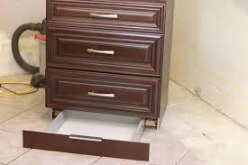 Kitchen Cabinets Drawers Kitchen Renovation How To Make A Secret Toekick Drawer Tikkido Com
