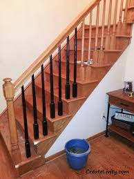Staining Stair Banister Createlivity Is 5 Ways To Make Oak Work Without Painting It