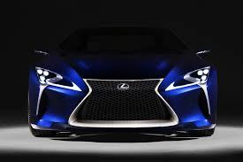 lexus lf lc rc lexus lf lc blue concept 01 muscle cars zone