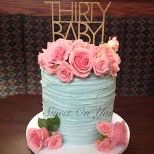 30th birthday flowers and balloons best 25 birthday cake with flowers ideas on cake with