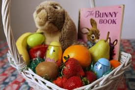 healthy easter baskets healthy easter a way to get kids to prize fruit chocolate eggs