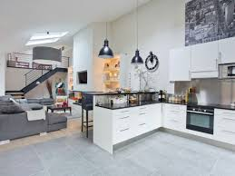 deco salon cuisine ouverte cuisine americaine prix cuisine en image avec salon moderne avec