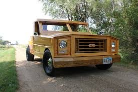 Classic Ford Truck Bumpers - custom built all wood ford pickup truck