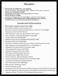 Major Achievements In Resume College Graduate Rsum Sample How To Write Accomplishments In