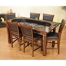 Dining Room Poker Table Costco Kitchen Table Turns Into A Poker Table And Craps Table