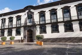 chambre d hote madere funchal bâtiment d hôtel de ville de funchal madère portugal image stock