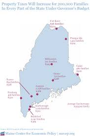 Property Line Map Governor Lepage U0027s Proposed Cuts To Homestead Exemption Would Raise