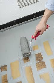 peinture sol cuisine repeignez vos sols carrelés intérieurs conseils et guides