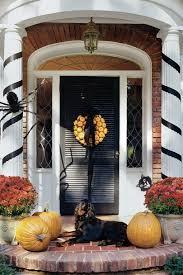 How To Decorate Home For Halloween Front Porches That Have Us So Ready For Fall Southern Living