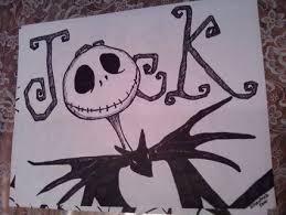 free nightmare before skellington ink drawing 2