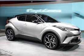 New C Toyota Wants To Boost Hybrid Sales With New C Hr Crossover