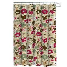 Outdoor Shower Curtain Ring - saturday knight ombre leaves 72 in floral shower curtain