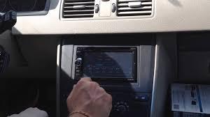 volvo xc90 aftermarket kenwood double din navigation youtube