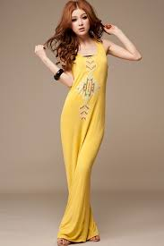 color women wear dress maxi dresses without sleevesb 2014 ideas