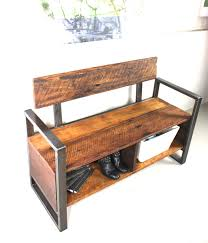 Hallway Bench Storage by Furniture Wooden Bench With Storage For Home Furniture Seating