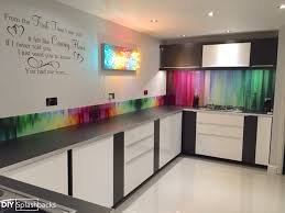 kitchen glass splashback ideas glass upstands ideas