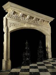 Outdoor Fireplace Surround by 187 Best Ornate Fireplace Screens U0026 Mantels Images On Pinterest