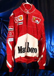ferrari jacket official ferrari red racing jacket 01 large marlboro vodafone