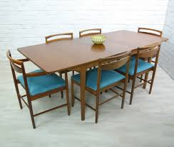 Retro Dining Room Furniture Retro Vintage Teak Mid Century Style Dining Table Eames Era